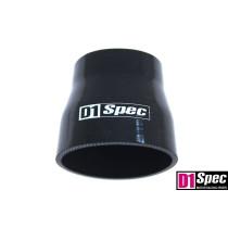 Szilikon szűkító D1Spec Fekete 63-76mm